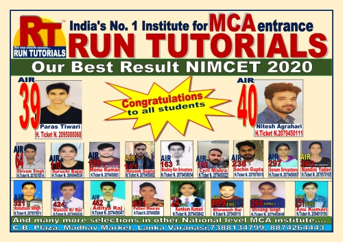OUR best in Nimcet  2020